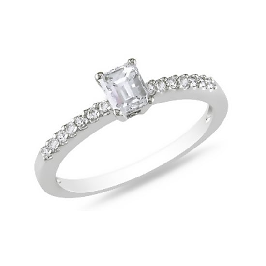 14 carat white gold diamond ring, $1,269, Ice Online