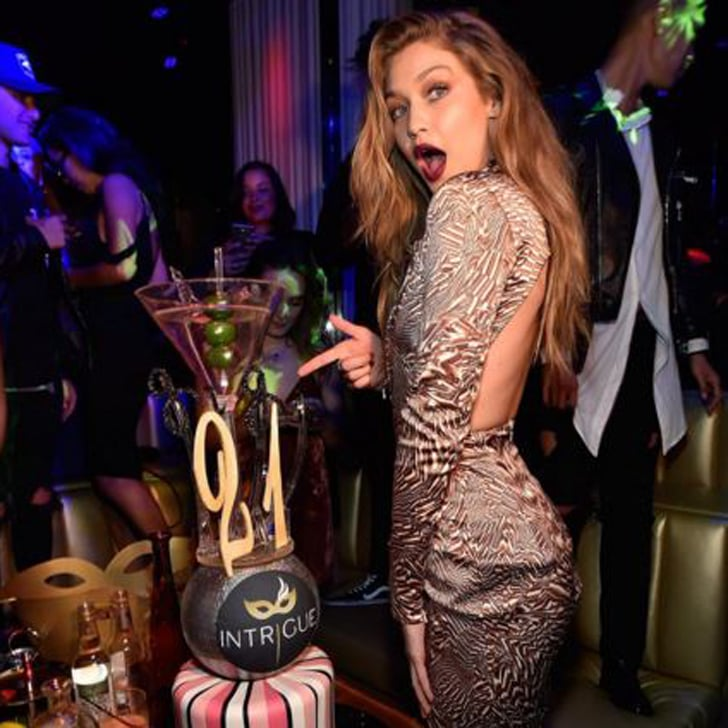 Gigi hadid s 21st birthday instagram pictures 2016 popsugar fashion