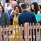 Nick Jonas and Priyanka Chopra at a Wedding June 2018