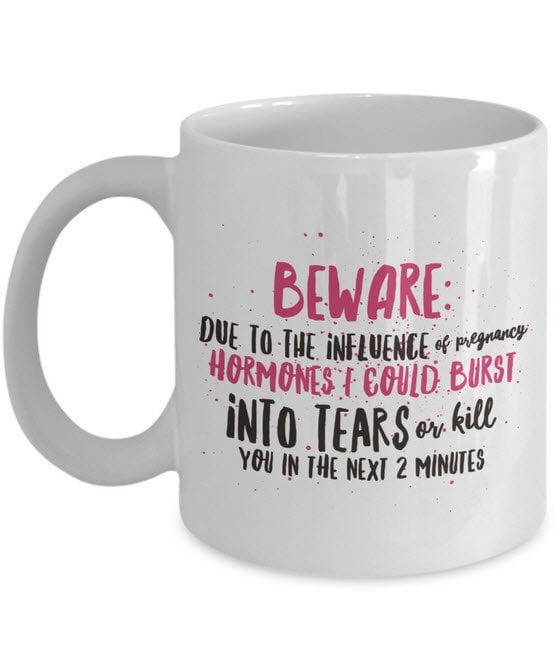 Pregnancy Warning Mug