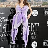 Angelina Jolie at the Maleficent: Mistress of Evil Premiere in Rome