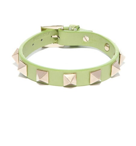 If you've been nursing an obsession with Valentino studs, give in. This wear-with-anything bracelet ($115, originally $230) is a steal.