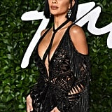 Nicole Scherzinger's Bob Haircut British Fashion Awards 2019