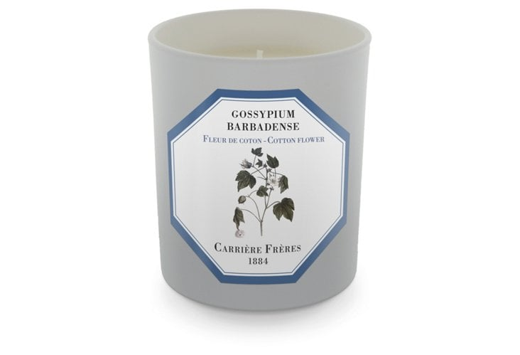 Cotton Flower Candle ($45)
