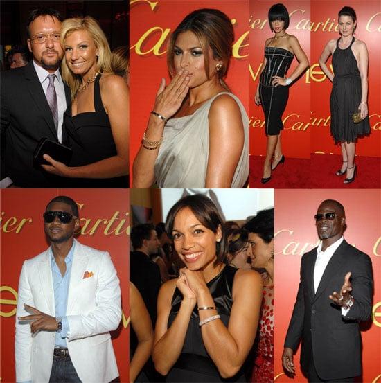 Celebs Celebrate Cartier's New Love