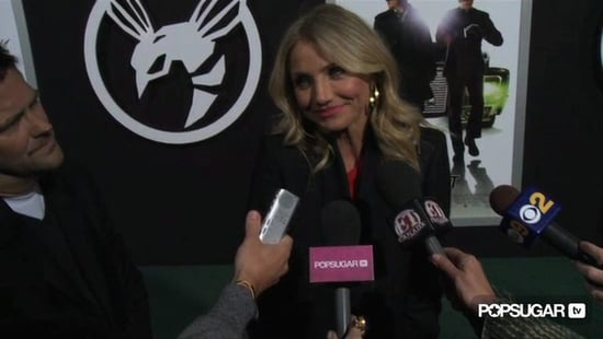 Video of Cameron Diaz Talking About Another Charlie's Angels