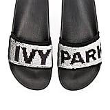 Ivy Park Sequin Slides