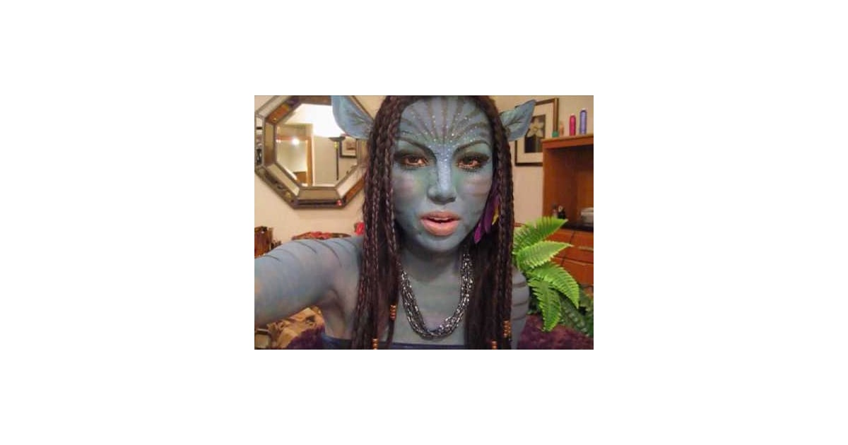 avatar navi makeup tutorial popsugar beauty