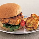 Brainy Salmon Burger