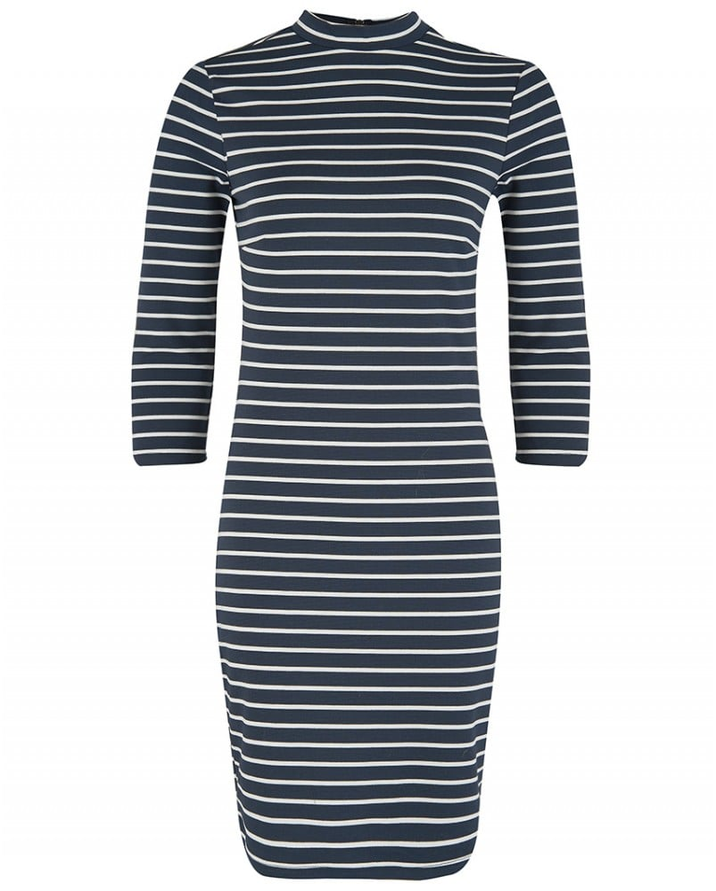 Atterley Road Striped Navy Dress