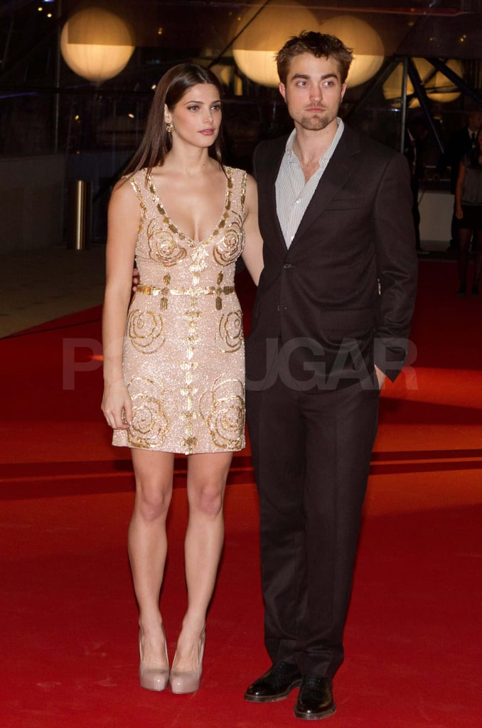 Robert Pattinson and Ashley Greene at the Belgium premiere of Breaking Dawn: Part I.