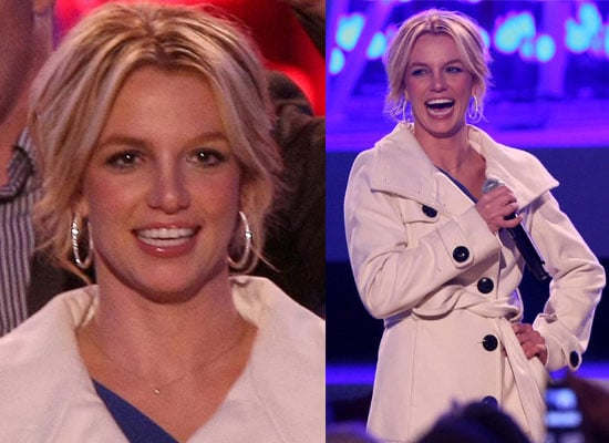 05/12/08 Britney Spears Turns On Christmas Lights In LA