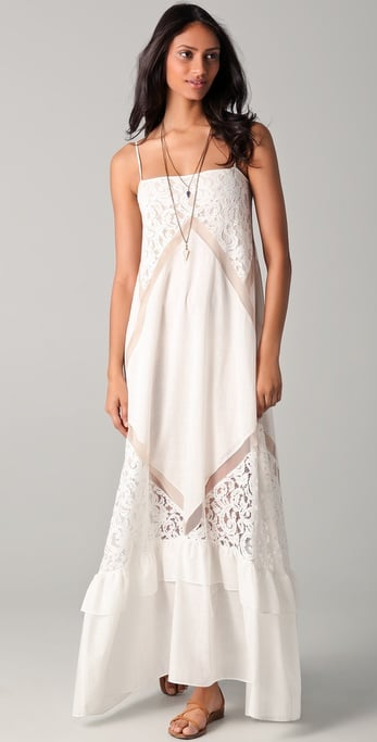 The perfect carefree find for a gorgeous beachy wedding.  BCBG Max Azria The Keylene Dress ($398)