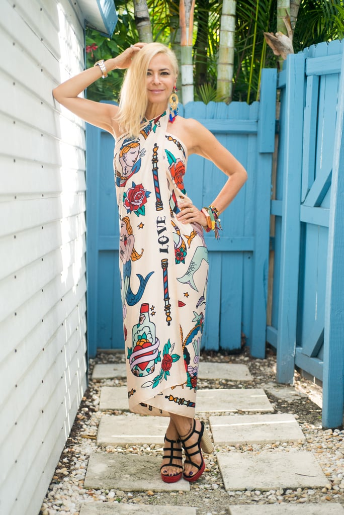 Just healthy lifestyle sarong dress