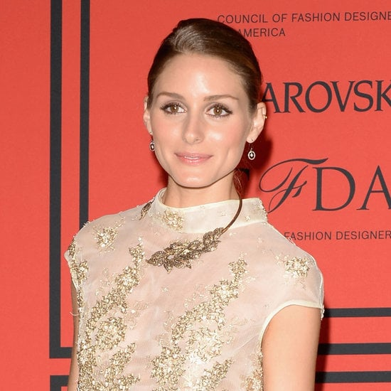 Olivia Palermo showed off her radiant complexion with a subtle cat eye and a nude-pink lip color on the CFDA Fashion Awards red carpet.