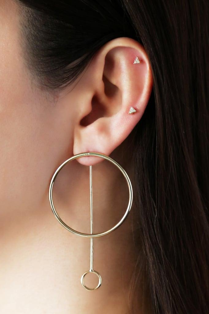 Adornmonde Wyatt Gold Earrings