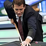 Clive Owen plays pool!