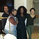 Oprah posed with her glam squad ahead of the Critics' Choice Awards. Source: Instagram user oprah