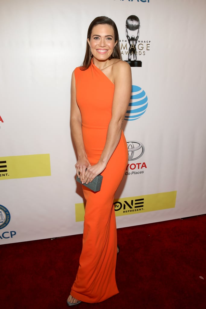 70880df7b70a4 Pictured: Mandy Moore | This Is Us Cast at 2017 NAACP Image Awards ...