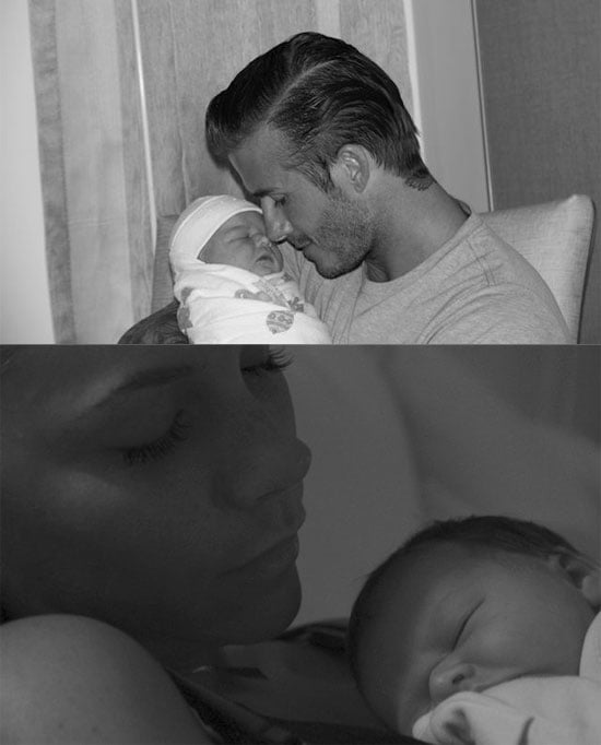 Victoria and David Beckham Release First Picture of Harper