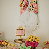 A look at the entire dessert table.