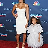Mel B and Daughter on Red Carpet August 2016