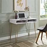 Novogratz Athena Computer Desk with Storage
