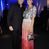 Kenneth Cole and Margherita Missoni posed for a photo.