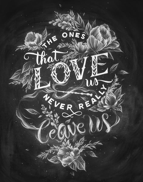 The Ones That Love Us Sirius Black Print ($14, originally $18)