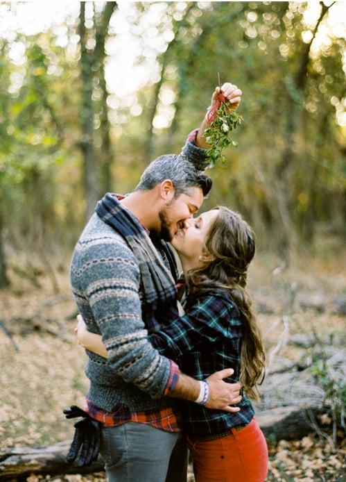 Kiss Beneath the Mistletoe