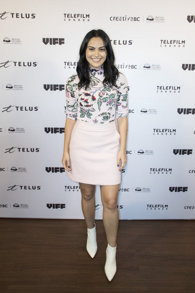 Camila Mendes at the Vancouver International Film Festival in 2018
