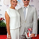 Rebecca Romijn and Jerry O'Connell were in the crowd in 2010.