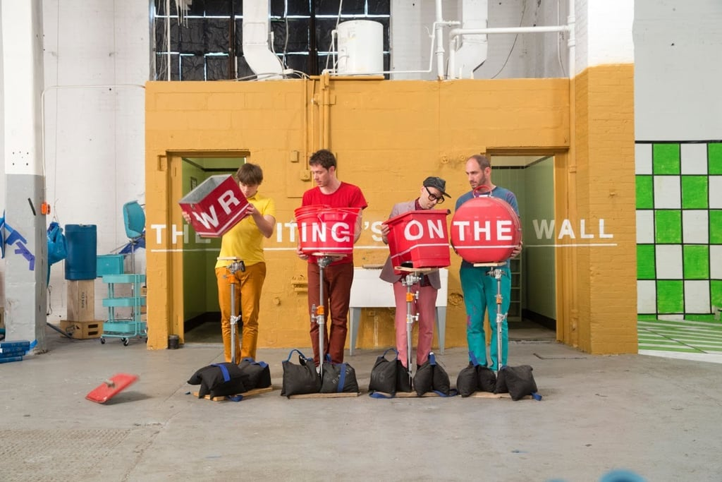 "Best Visual Effects: ""The Writing's on the Wall"" by OK Go"
