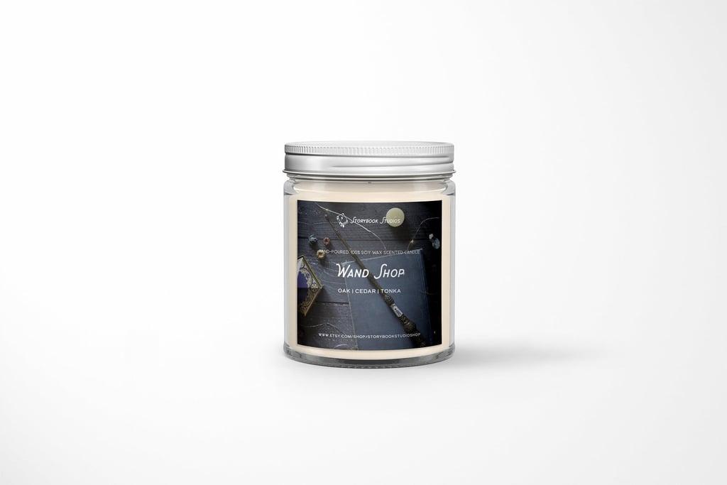 Wand Shop Candle