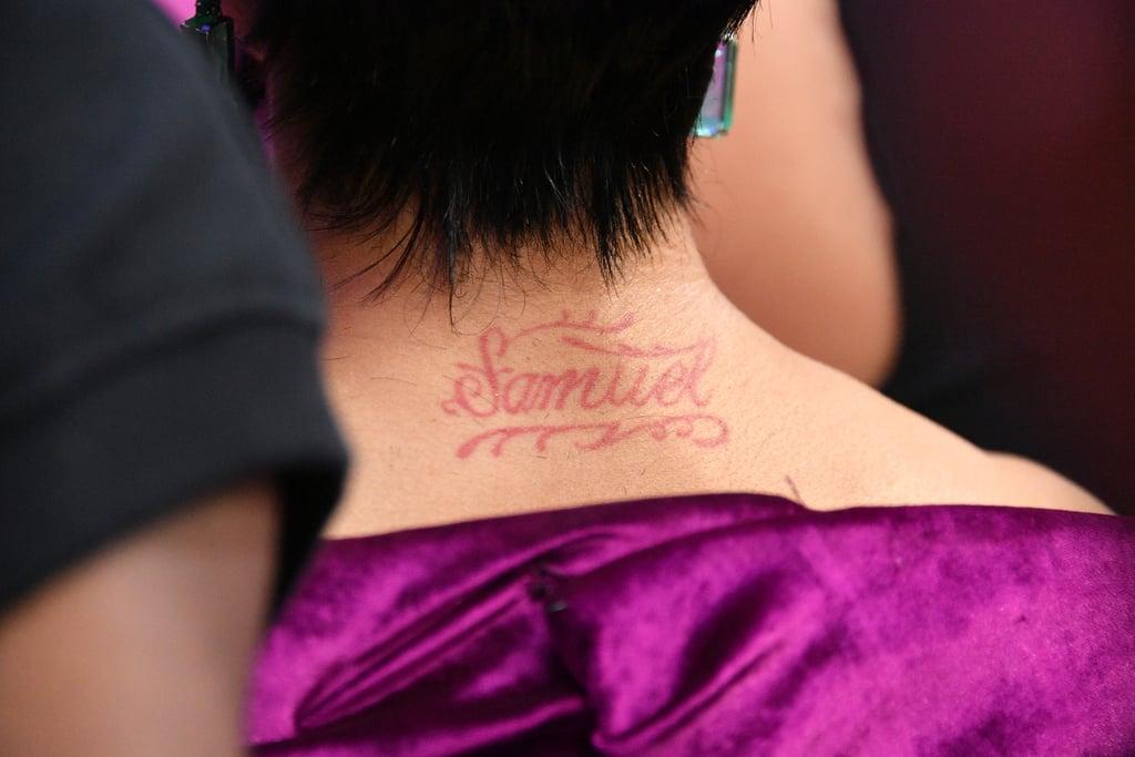Cardi B's Samuel Tattoo