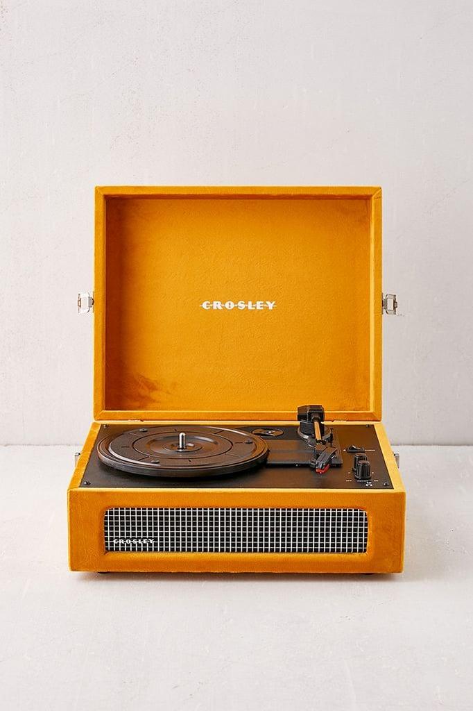 Crosley Topaz Velvet Voyager Bluetooth Vinyl Record Player
