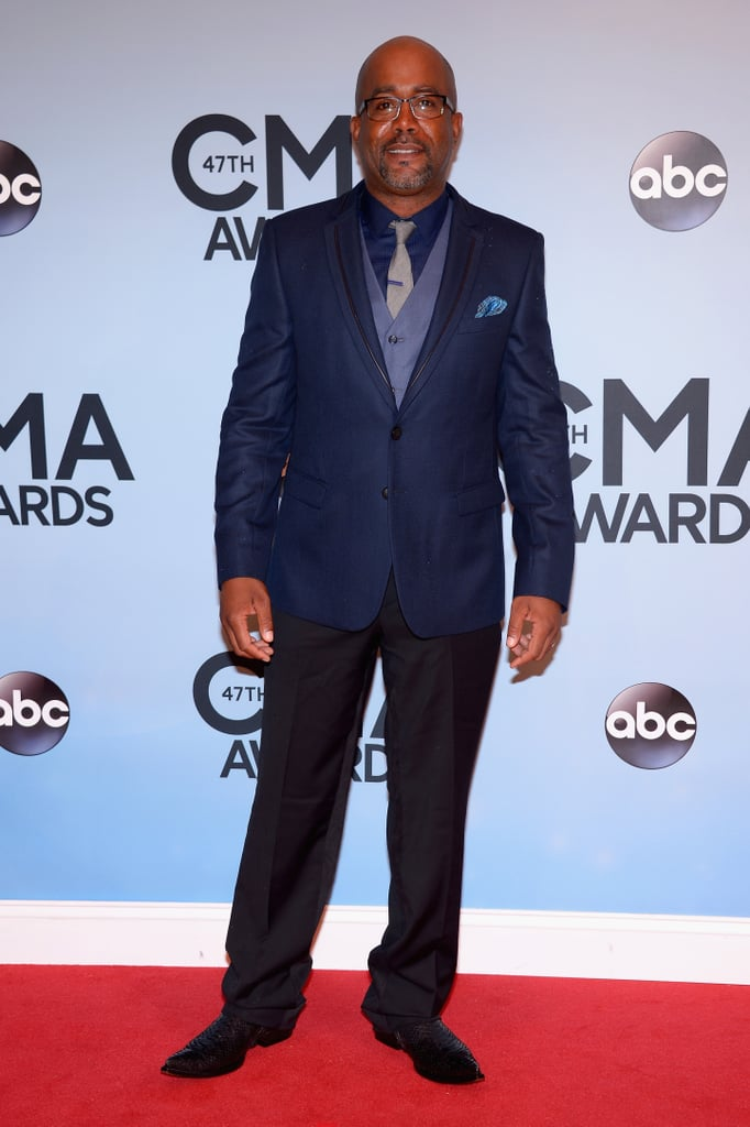 Darius Rucker walked the red carpet at the CMAs in Nashville.