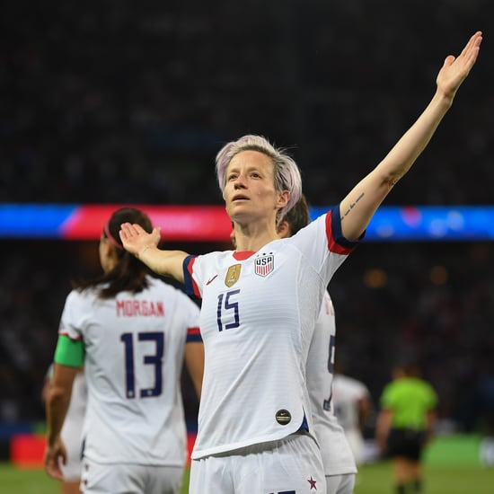 Megan Rapinoe Power Pose