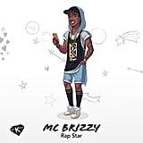 Here is MC Brizzy, a rap star in the game.
