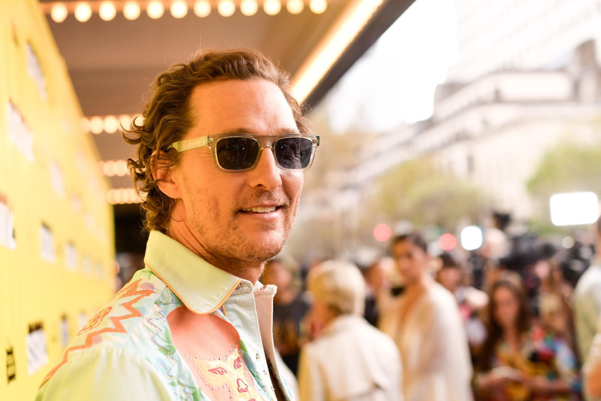 AUSTIN, TEXAS - MARCH 09: Matthew McConaughey attends the