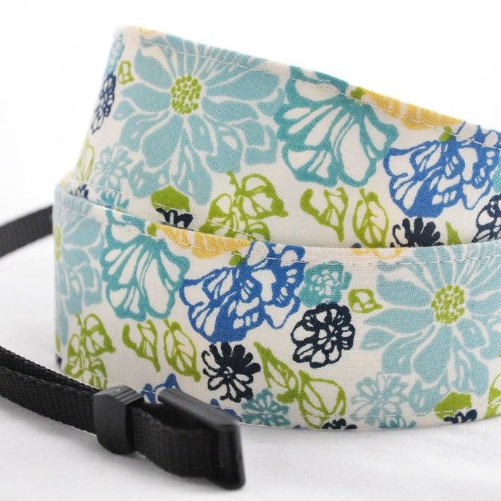 Spring Floral Camera Strap
