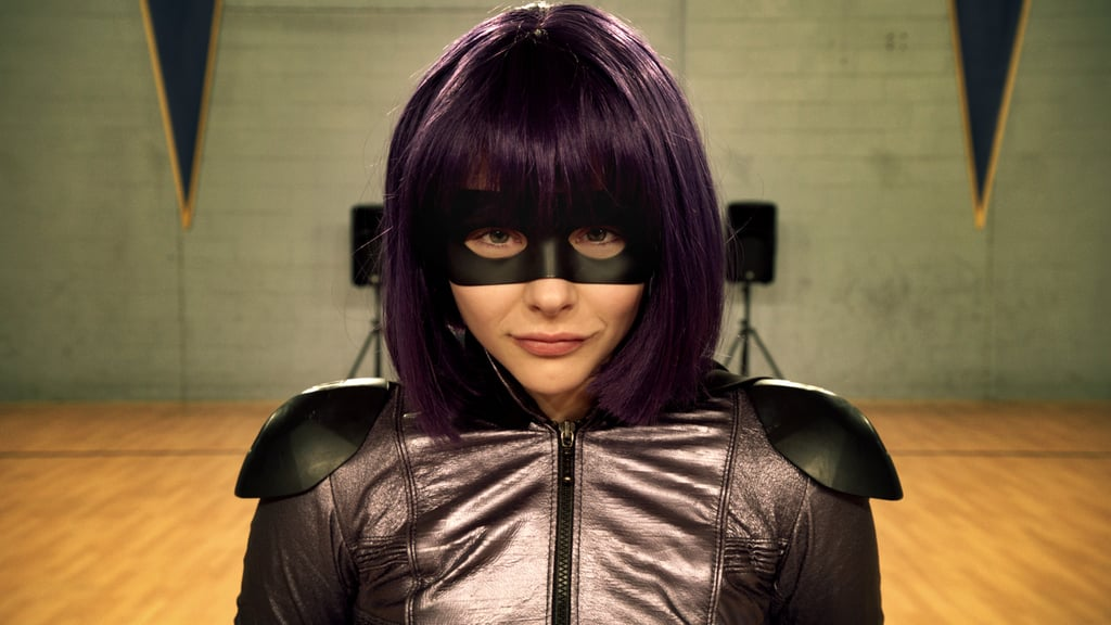 Chloë Moretz as Hit-Girl Our favorite spunky, foul-mouthed female superhero played by Chloë Moretz will return to theaters for the sequel Kick-Ass 2.