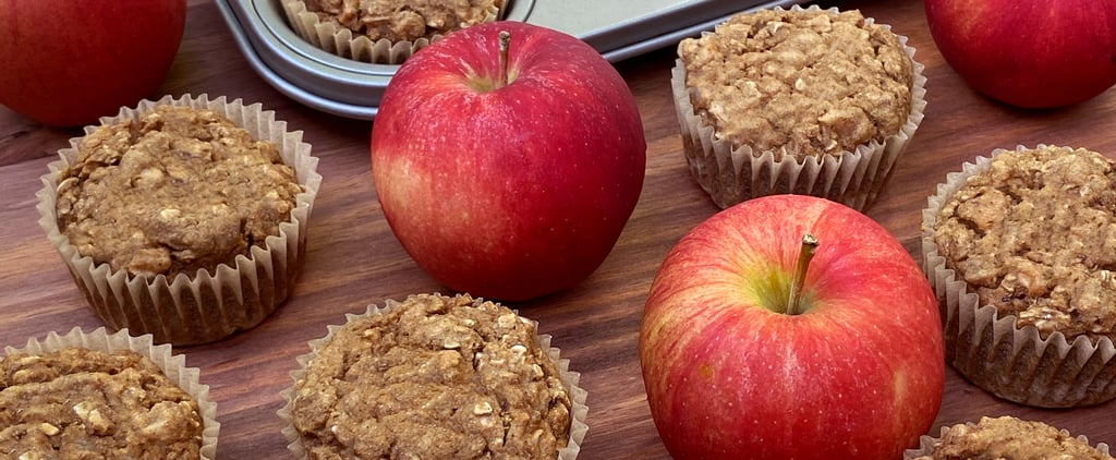 Sugar-Free Vegan Apple Cinnamon Oatmeal Muffins Recipe