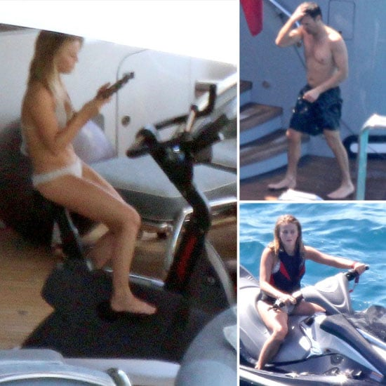 Julianne Hough Works Out in a Bikini While Ryan Seacrest Jet-Skis Shirtless