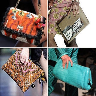 Top Designer Handbags from 2012 Milan Spring Summer Fashion Week: The Best Bag Styles from Prada, D&G, Versace and more!