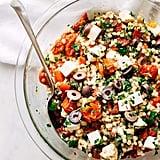 Roasted Garlic Italian Couscous Salad