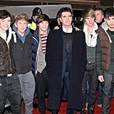 One Direction at an X Factor Appearance in 2010