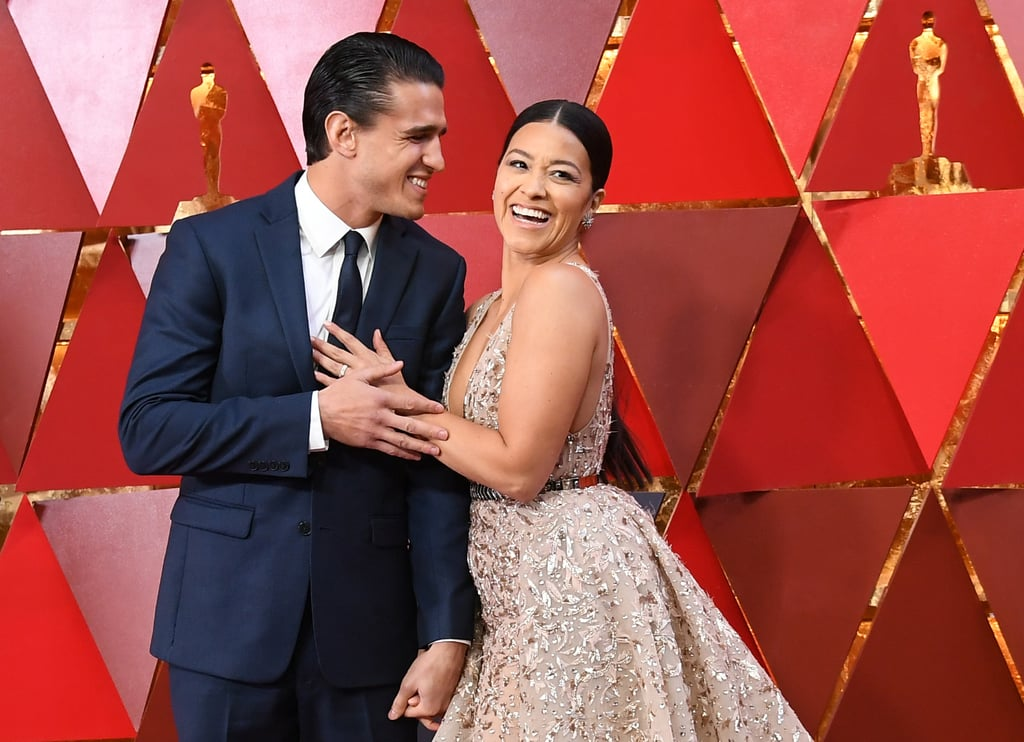 Gina Rodriguez's Wedding Dress Is Simple at First Glance — Until You See the Sexy Back