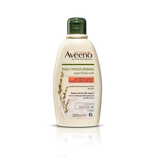 AVEENO® Daily Moisturising Body Yogurt Wash (Apricot and Honey Scented)