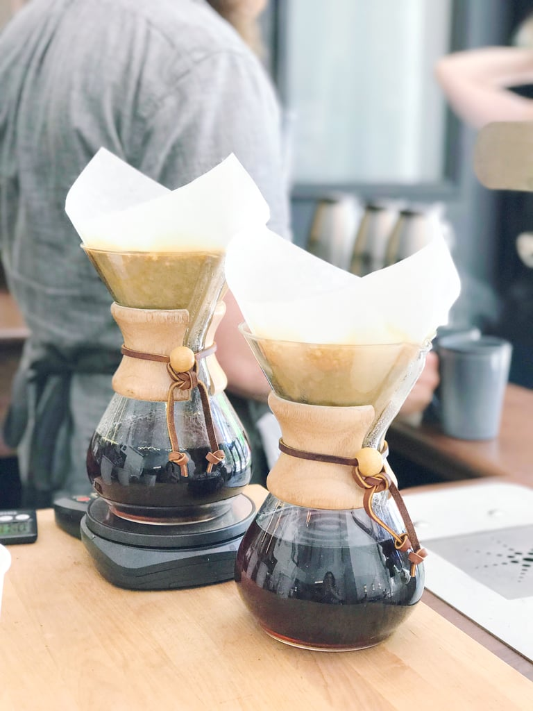 It has pour-over coffee, cold brew, and more.